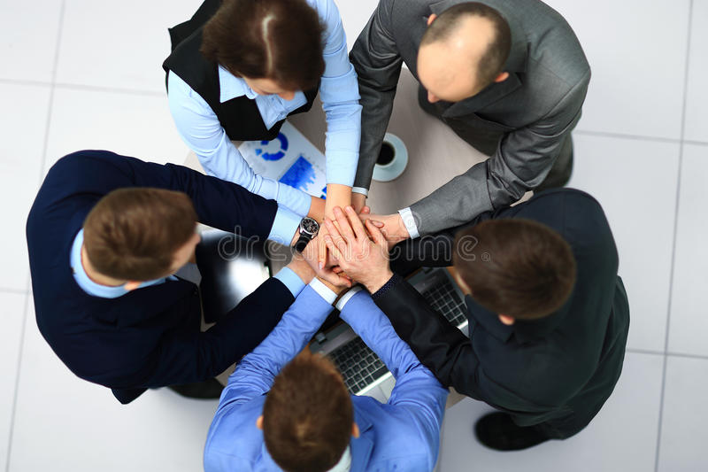 Team Teamwork Togetherness Community fotografie stock libere da diritti