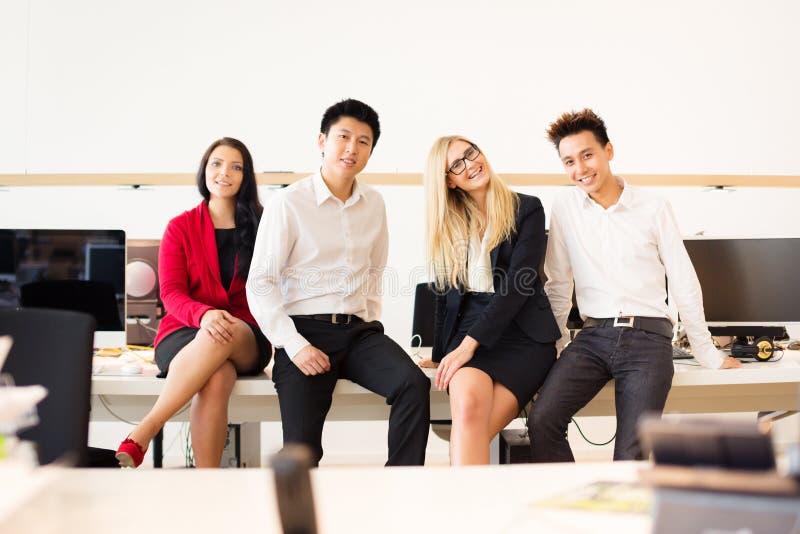Team In Their Office criativo novo imagens de stock royalty free