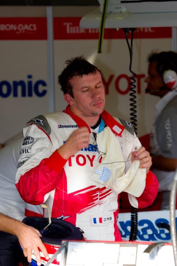 Team Toyota F1, Ricardo Zonta, 2006 stock photography