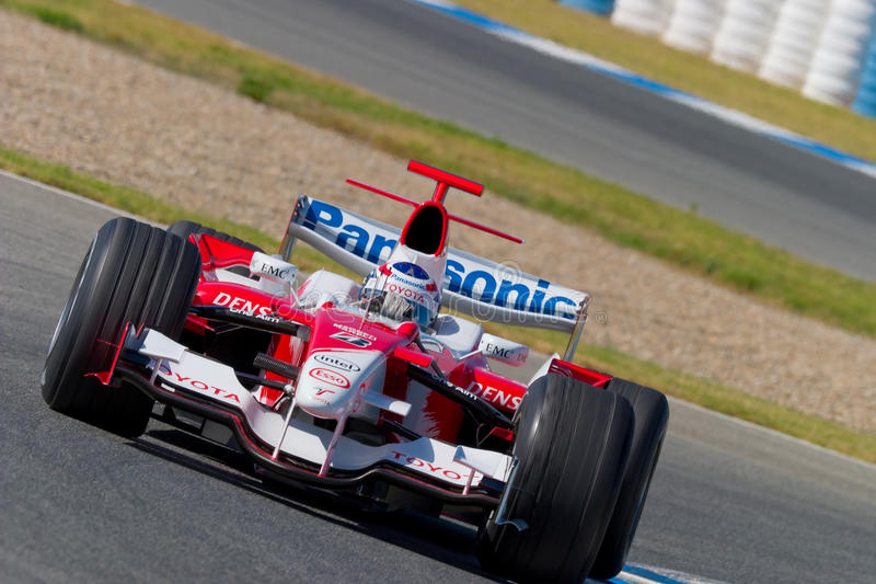 Team Toyota F1, Olivier Panis, 2006 stock images