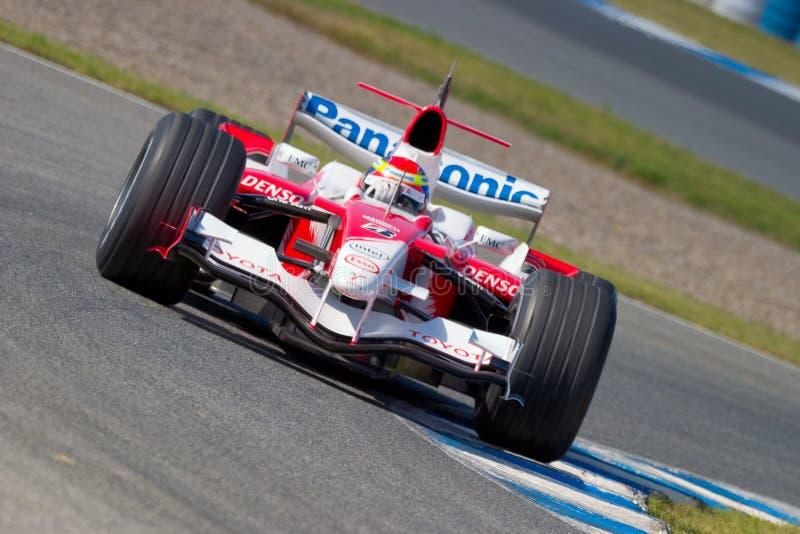 Team Toyota F1, Ricardo Zonta, 2006 stock photos