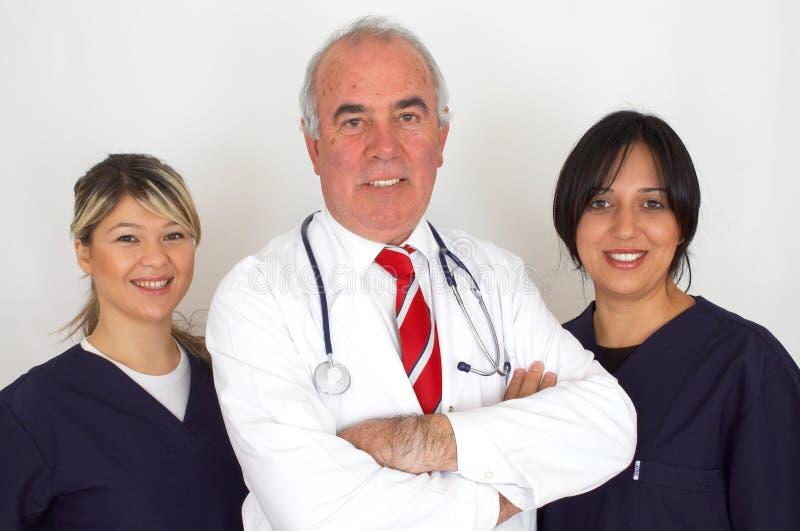 Team van artsen royalty-vrije stock fotografie