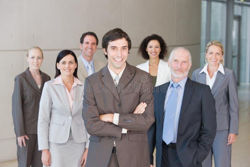 Team van bedrijfsmensen stock foto