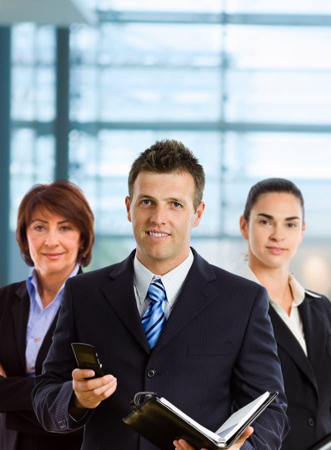 Team van businesspeople stock afbeelding