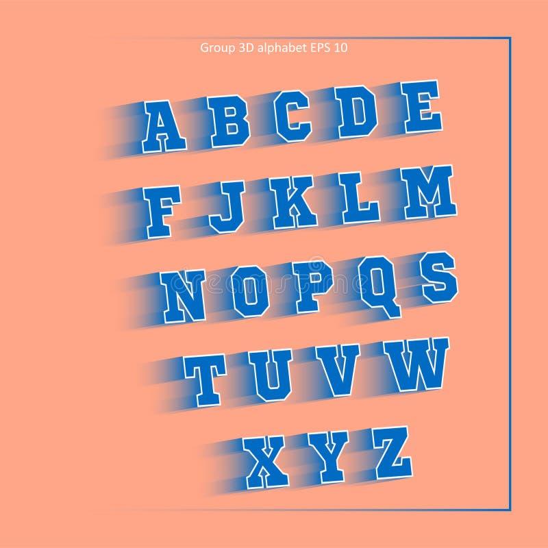 Team van de alfabet het gele sport royalty-vrije stock foto's
