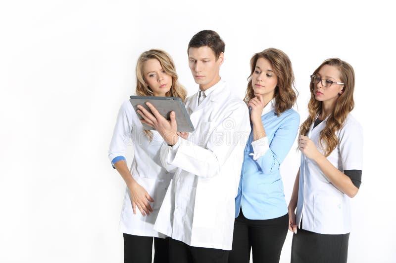 Team van jonge artsen royalty-vrije stock foto