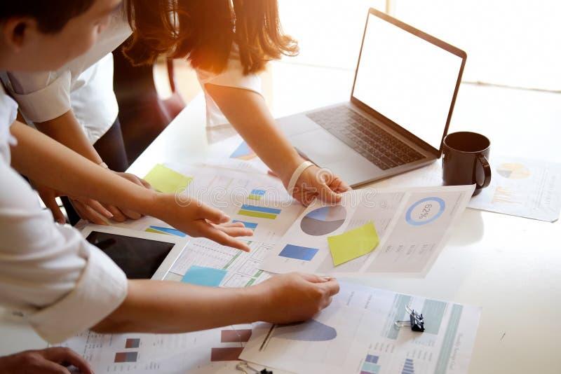 Team van vergadering van het Bedrijfs de creatieve projectidee royalty-vrije stock afbeeldingen