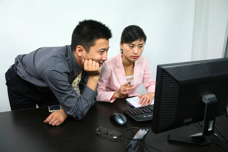 Download Team work stock photo. Image of chinese, team, communication - 2769860