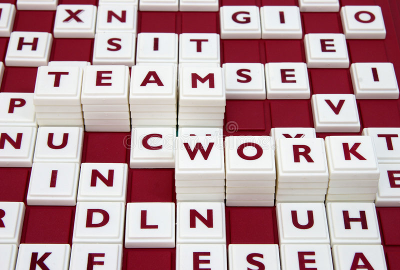 Download Team work stock photo. Image of word, letters, together - 8239858