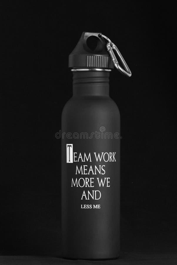 Download Team Work Bottle foto de archivo. Imagen de fondo, café - 64202444