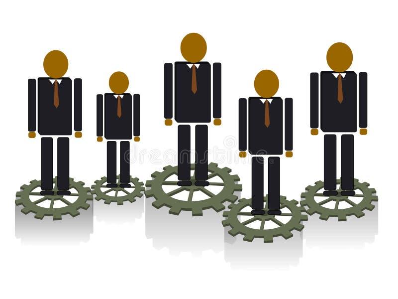 Team work concept stock image