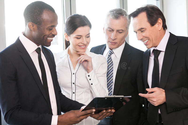 Team Work Talking Stock Images