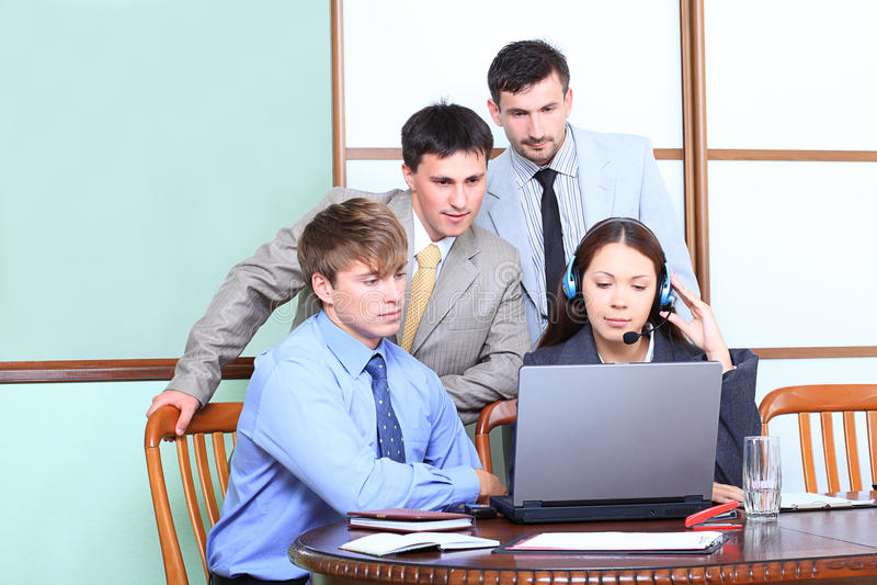 Teamarbeit lizenzfreies stockfoto