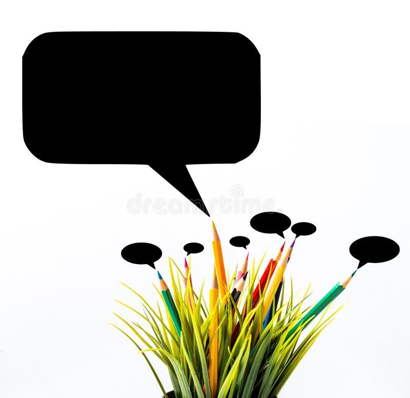 Teamkommunikationskonzept stockbild