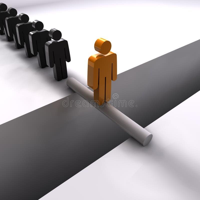 Teamleader vector illustration