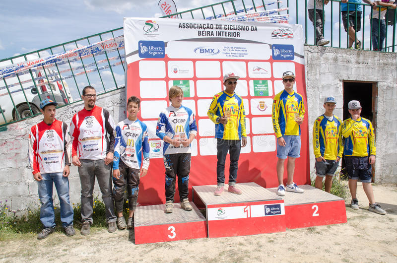 Download Teams podium editorial stock image. Image of final, portugal - 30885634