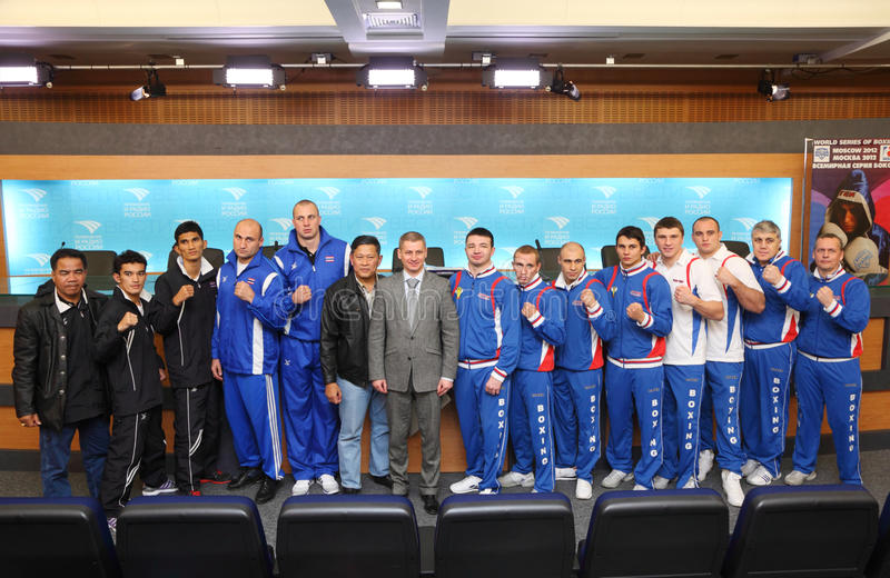 Download Teams Of The World Series Of Boxing Editorial Stock Photo - Image: 28023318