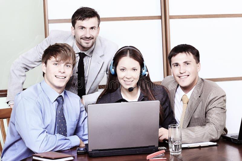 teamwork royaltyfria foton