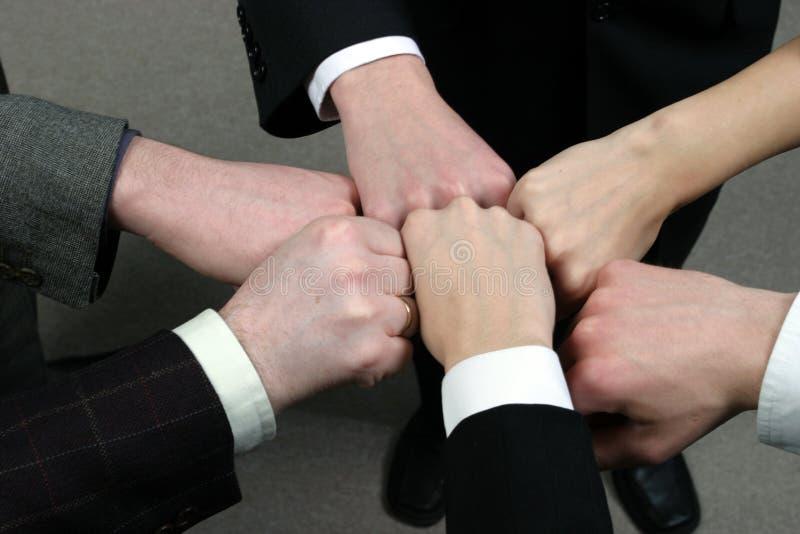 Teamwork stock image