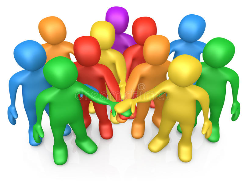 Download Teamwork stock illustration. Image of determination, success - 11977963