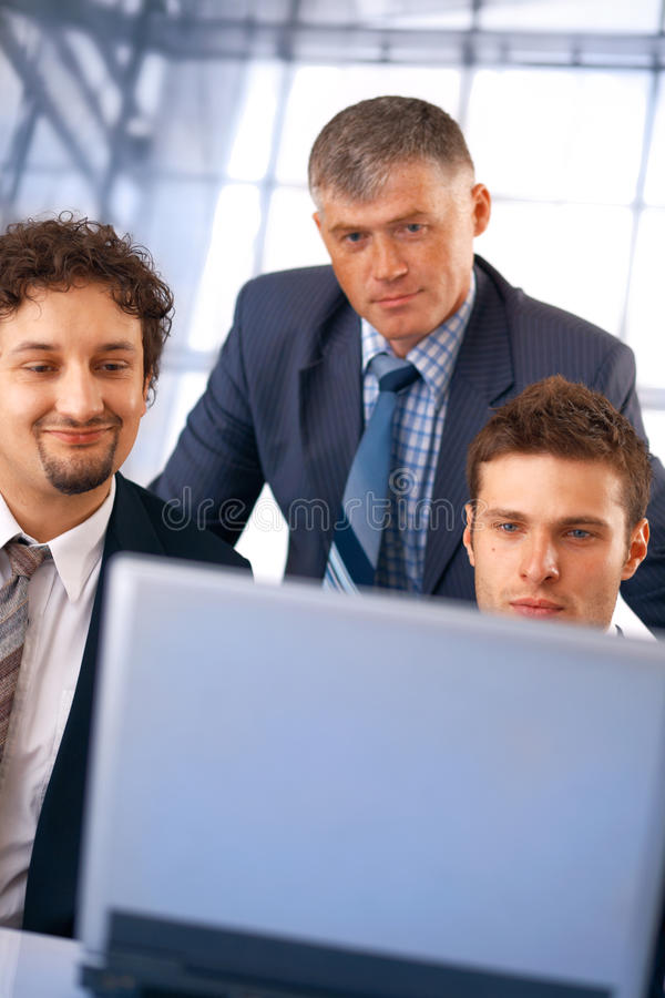 Download Teamwork. stock photo. Image of communication, office - 14855156