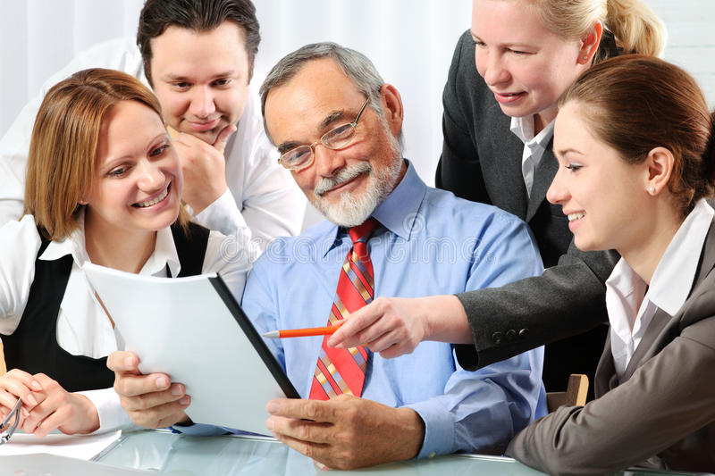 Download Teamwork stock image. Image of professional, laptop, occupation - 14876835