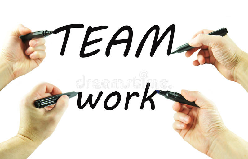 Download Teamwork stock photo. Image of cooperating, concept, efficiency - 18756760