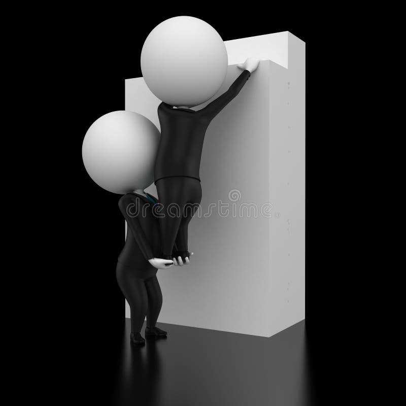 Download Teamwork stock illustration. Image of concept, team, people - 19356385