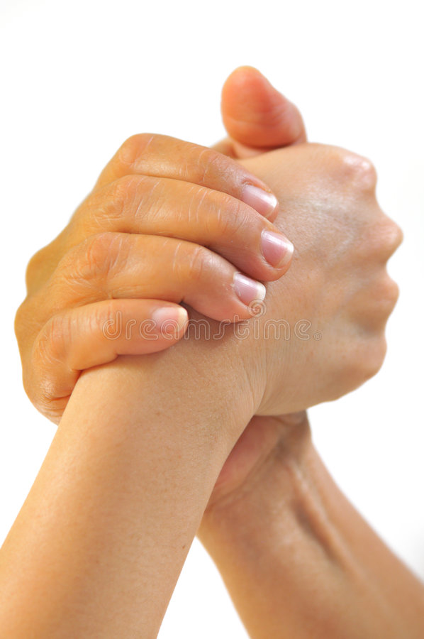 Teamwork 2. Abstract hand gestures representing teamwork stock photography