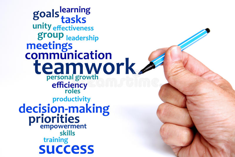 Download Teamwork stock illustration. Illustration of leadership - 23157938