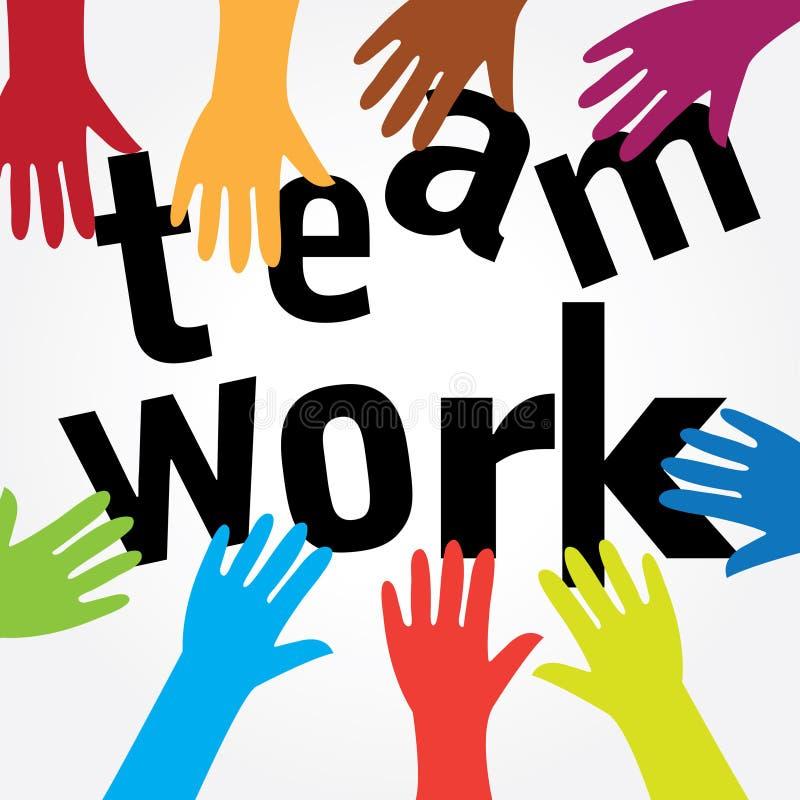 teamwork vektor illustrationer