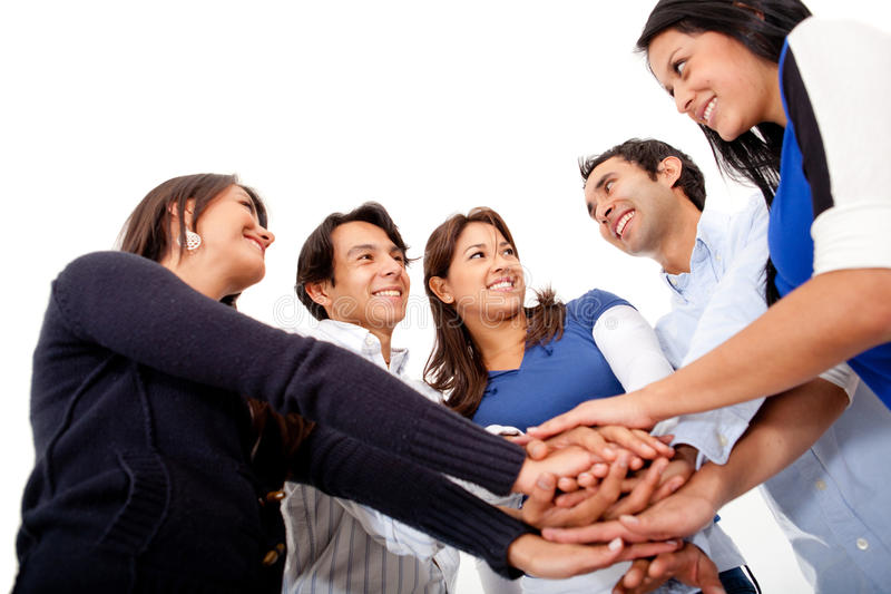 Download Teamwork stock photo. Image of happiness, guys, content - 24498994