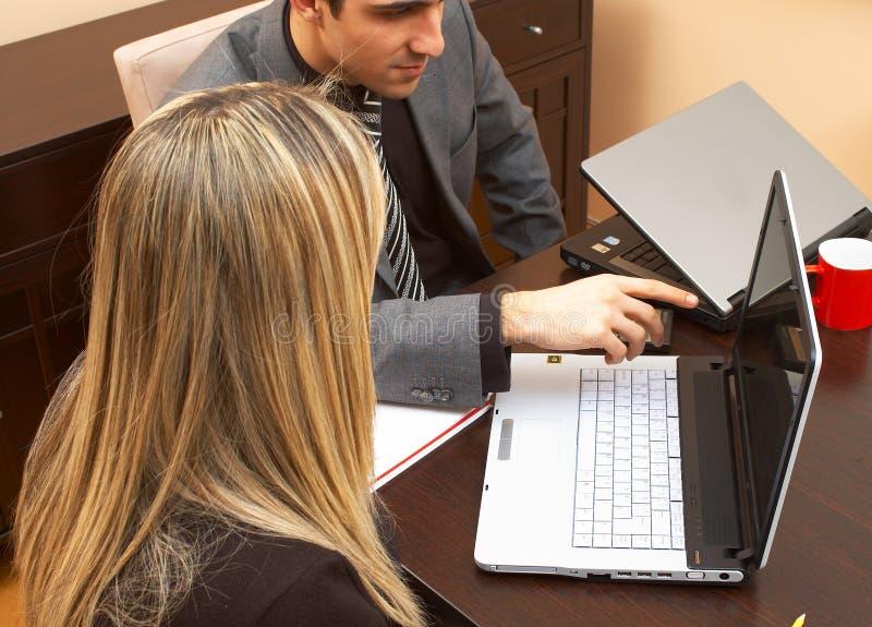 Teamwork stockbild