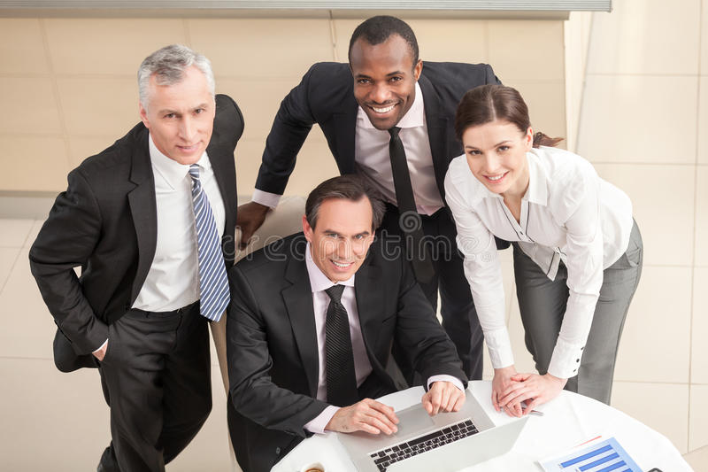 Teamwork arkivbild