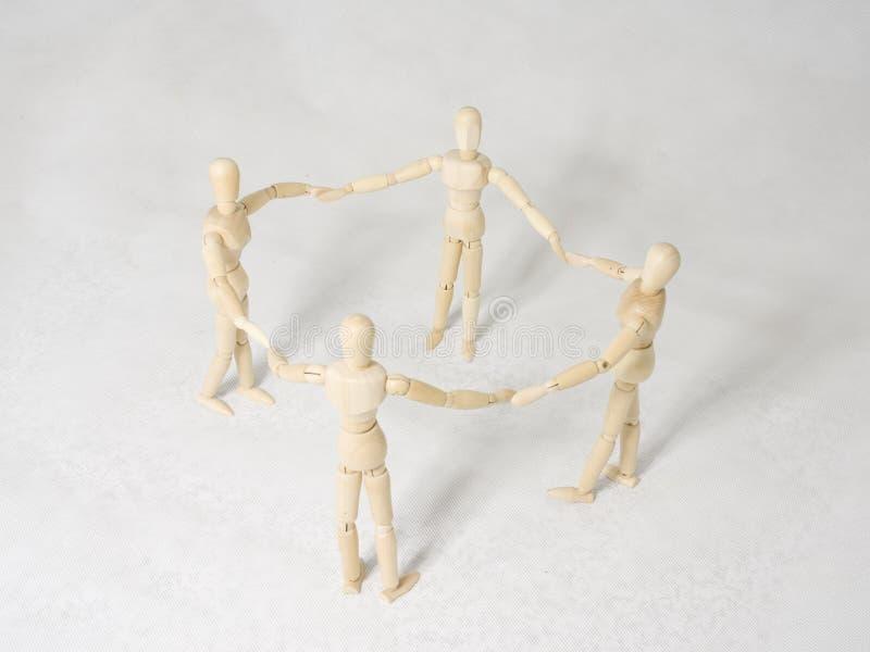 Teamwork stockfotografie