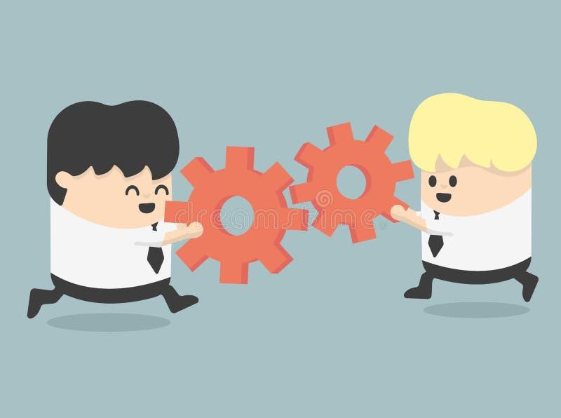 teamwork illustrazione di stock