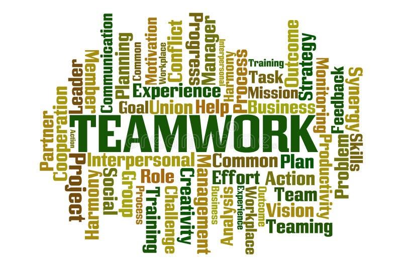 teamwork illustrazione vettoriale