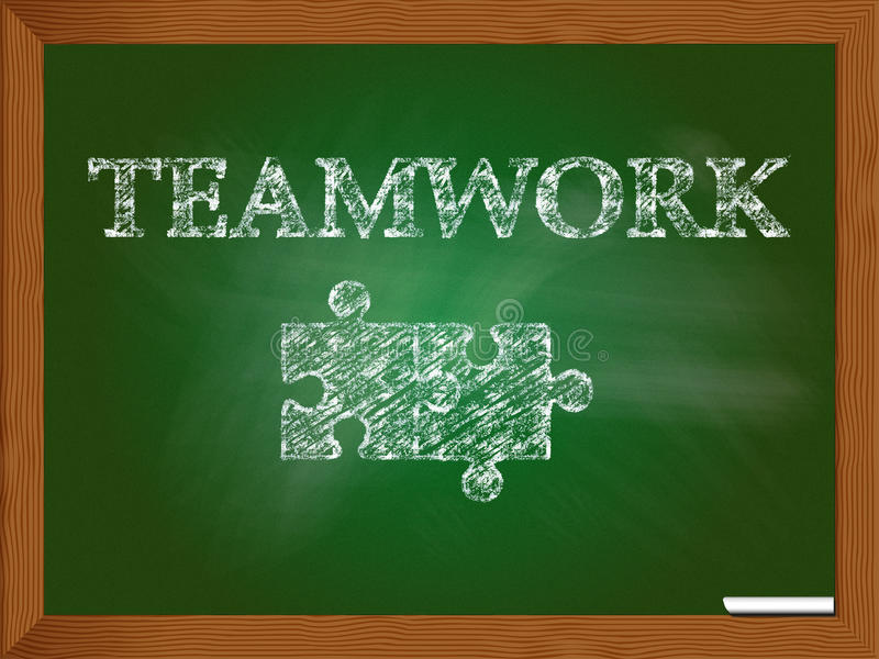 teamwork illustrazione di stock