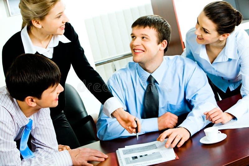 teamwork arkivfoto