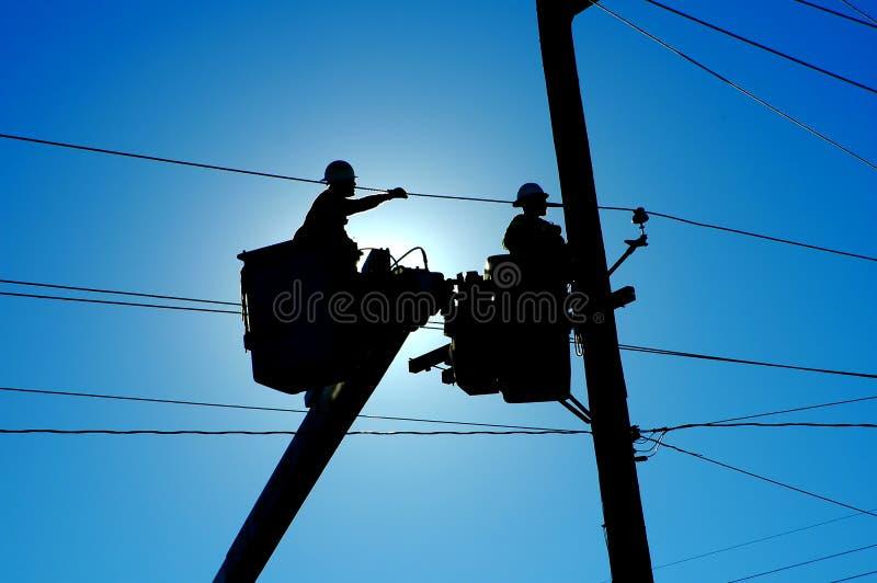 Download Teamwork stock image. Image of construction, pole, linemen - 542219