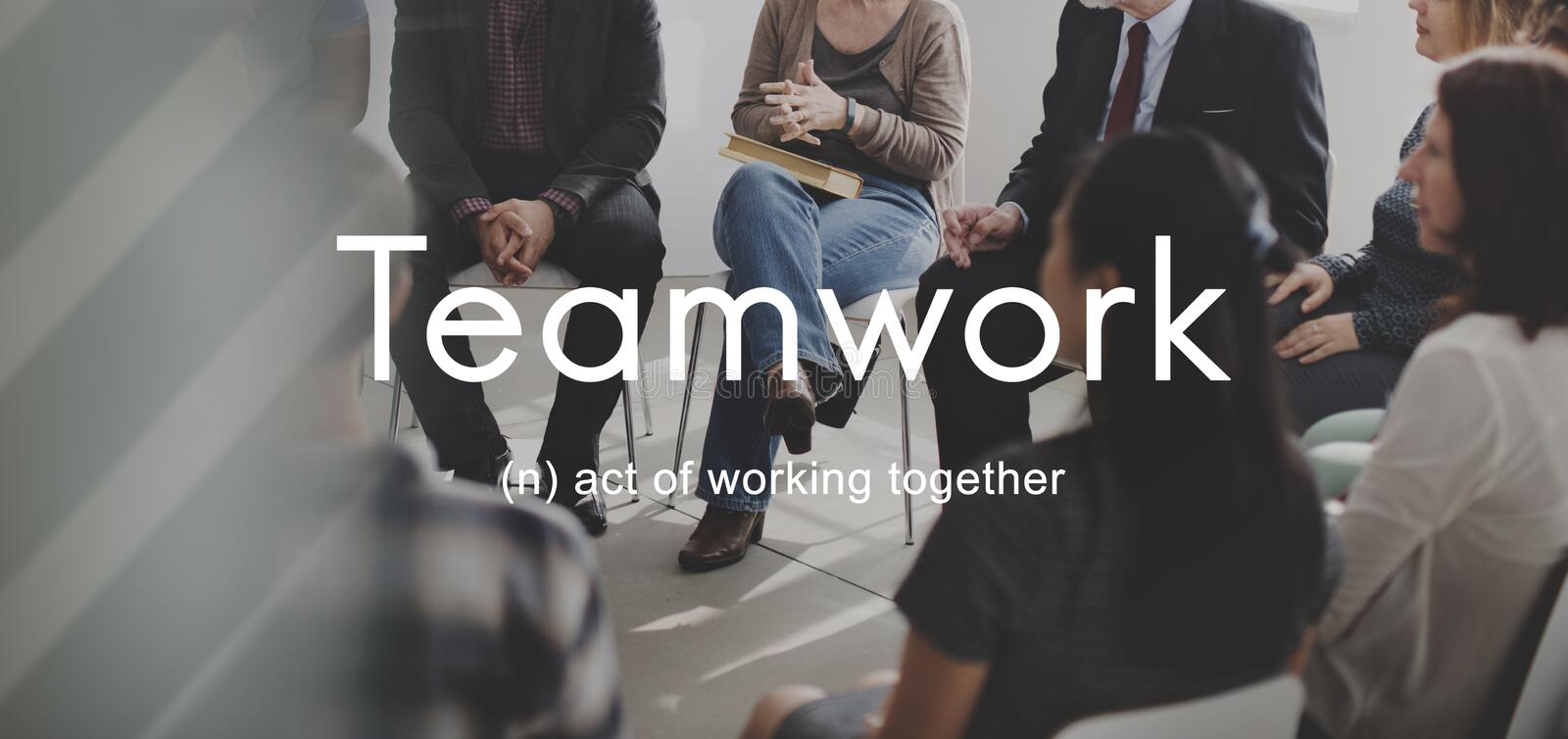 Teamwork Alliance Collaboration Company Team Concept images stock