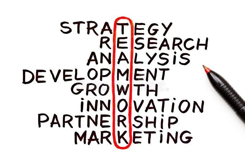 Teamwork Chart stock image