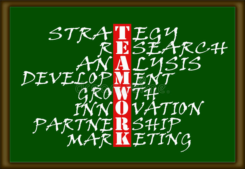 Teamwork Chart Stock Photos