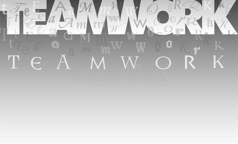 Download Teamwork Collage Background/eps Stock Vector - Image: 9393810