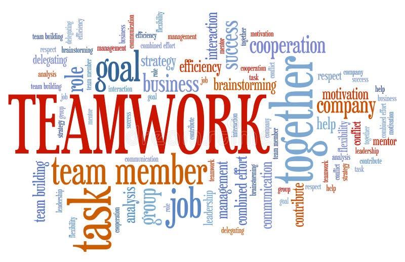 Teamwork vector illustration