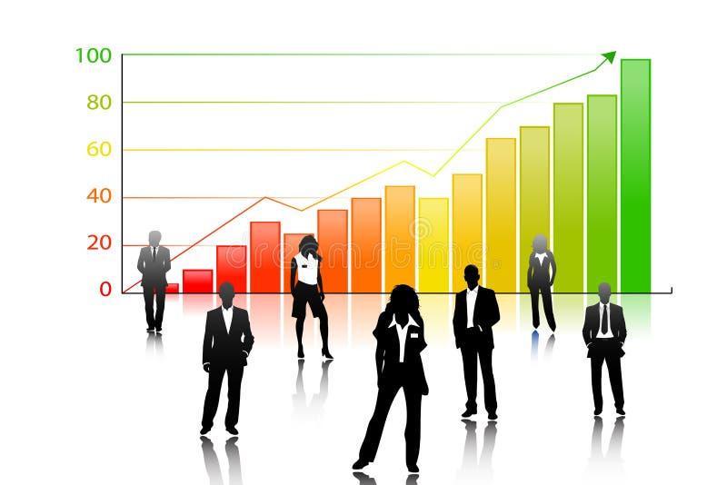 Download Teamwork stock illustration. Image of success, people - 33332178