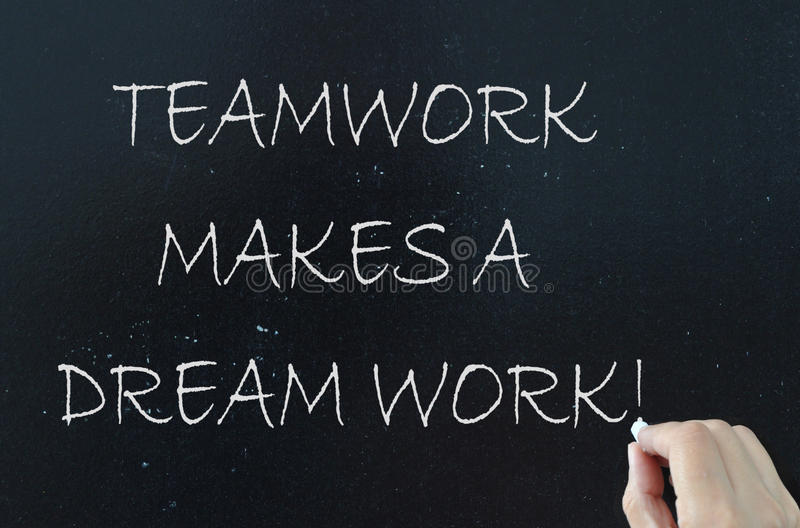 Teamwork concept royalty free stock images