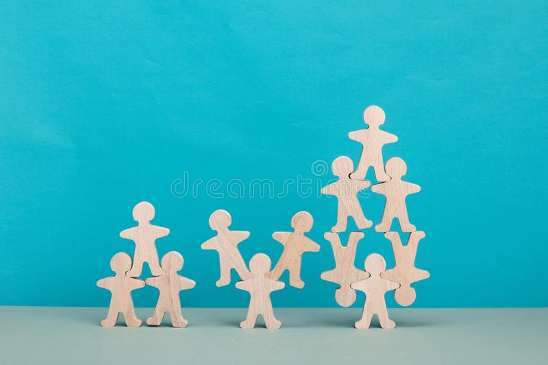 Teamwork concept. Brainstorm. New ideas. Non-standard approach to solving problems. royalty free stock images
