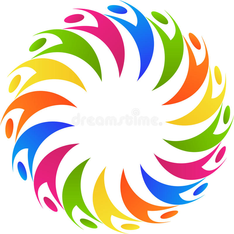 Download Teamwork and diversity stock vector. Image of collaboration - 33087630