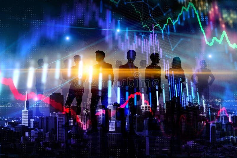 Teamwork, finans och pengarbegrepp arkivbilder